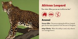 Character Card Leopard