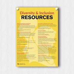 Resources for Diversity Poster Mockup Main