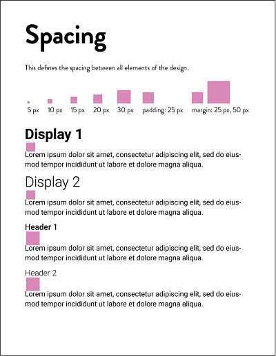 Style Guide_Spacing 1